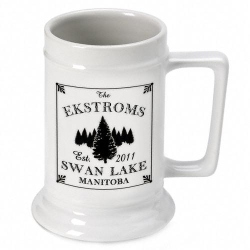 Personalized lake house cabin beer mugs and steins personalized lake house cabin beer mugs and steins personalized gifts negle Images