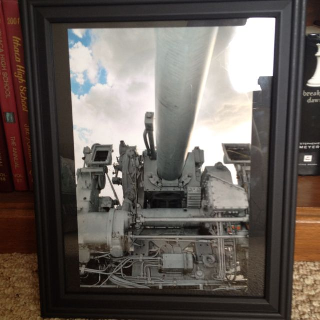 This doesn't give it justice, a photo I took down in Tampa and framed recently.