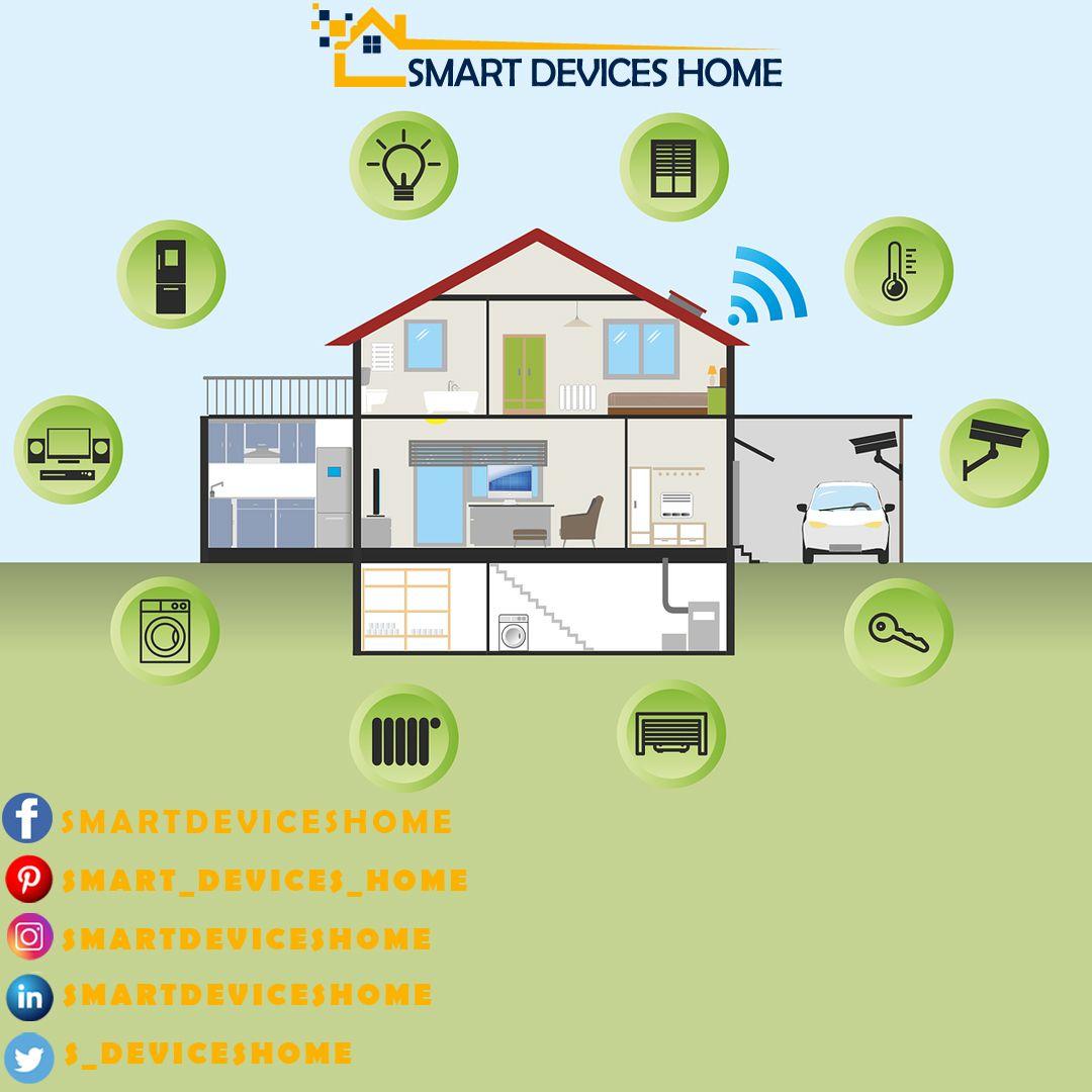 15 Smart Home   Smart home, Home, Smart
