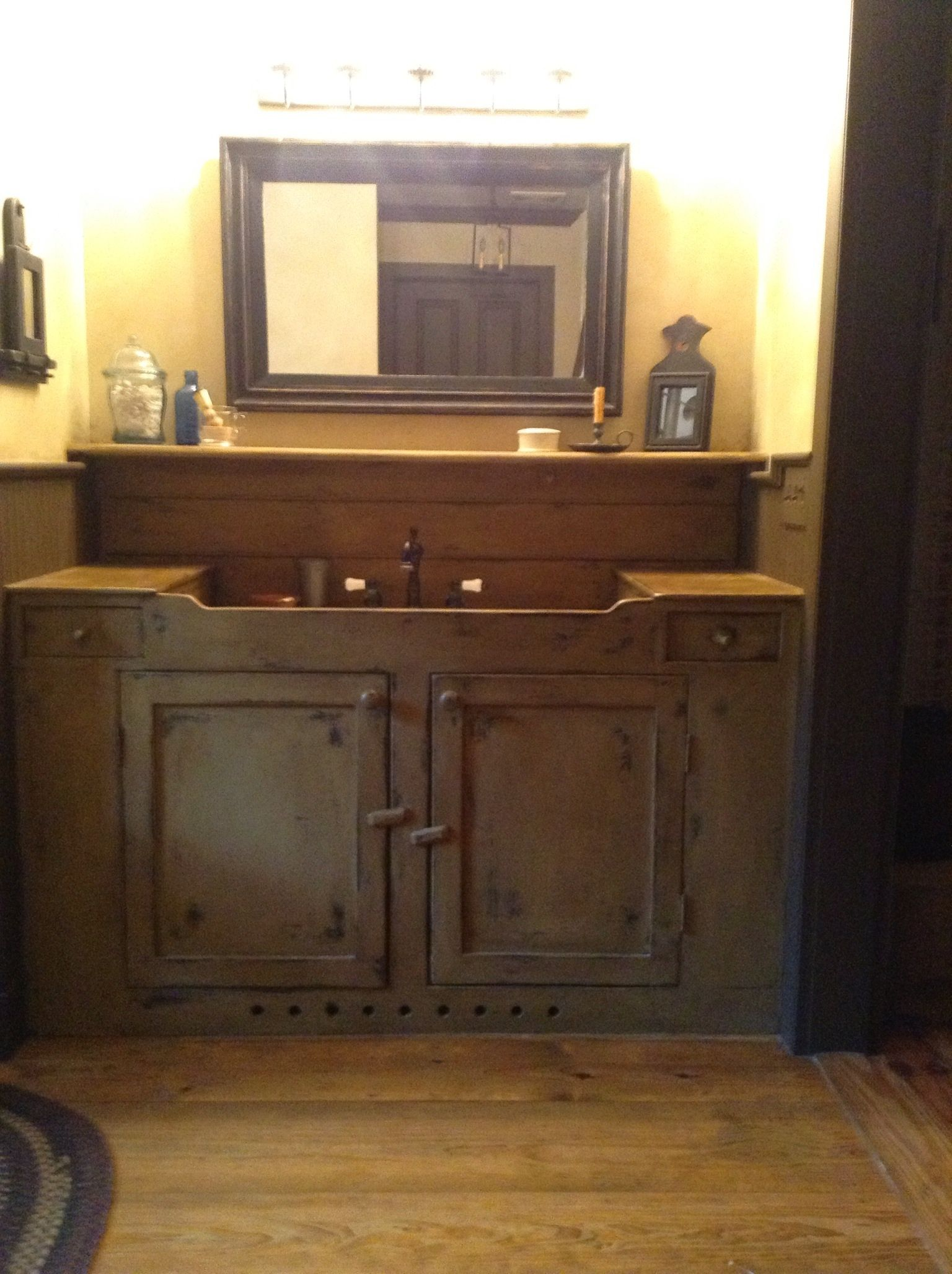 Primitive bathroom vanity 28 images primitive bathroom for Alaska fishing jobs craigslist