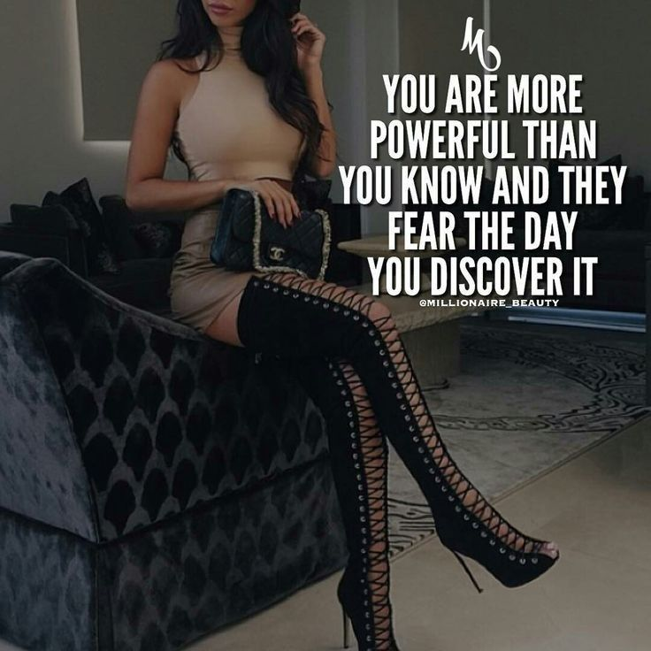 You are more powerful than you know and they fear the day you discovered it
