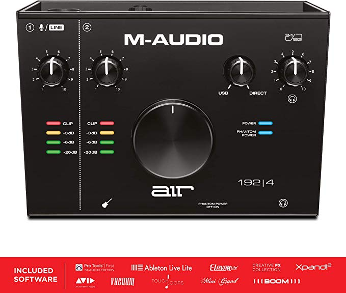 MAudio AIR 1924 2In 2Out USB Audio Interface with