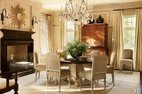 Dining Room : Suzanne Kasler and William T. Baker Create a Casual Atlanta House