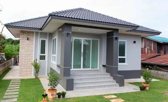 25 Desain Inspiratif Model Tiang Teras Rumah Di 2020 Desain Eksterior Desain Rumah