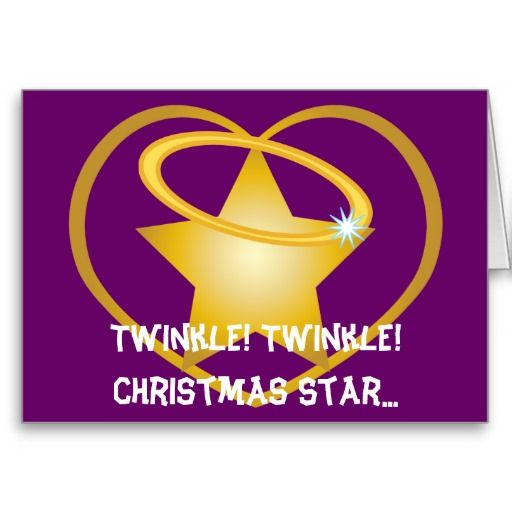 Esoteric meaning of christmas twinkle twinkle christmas star esoteric meaning of christmas twinkle twinkle christmas star customize greeting cards m4hsunfo