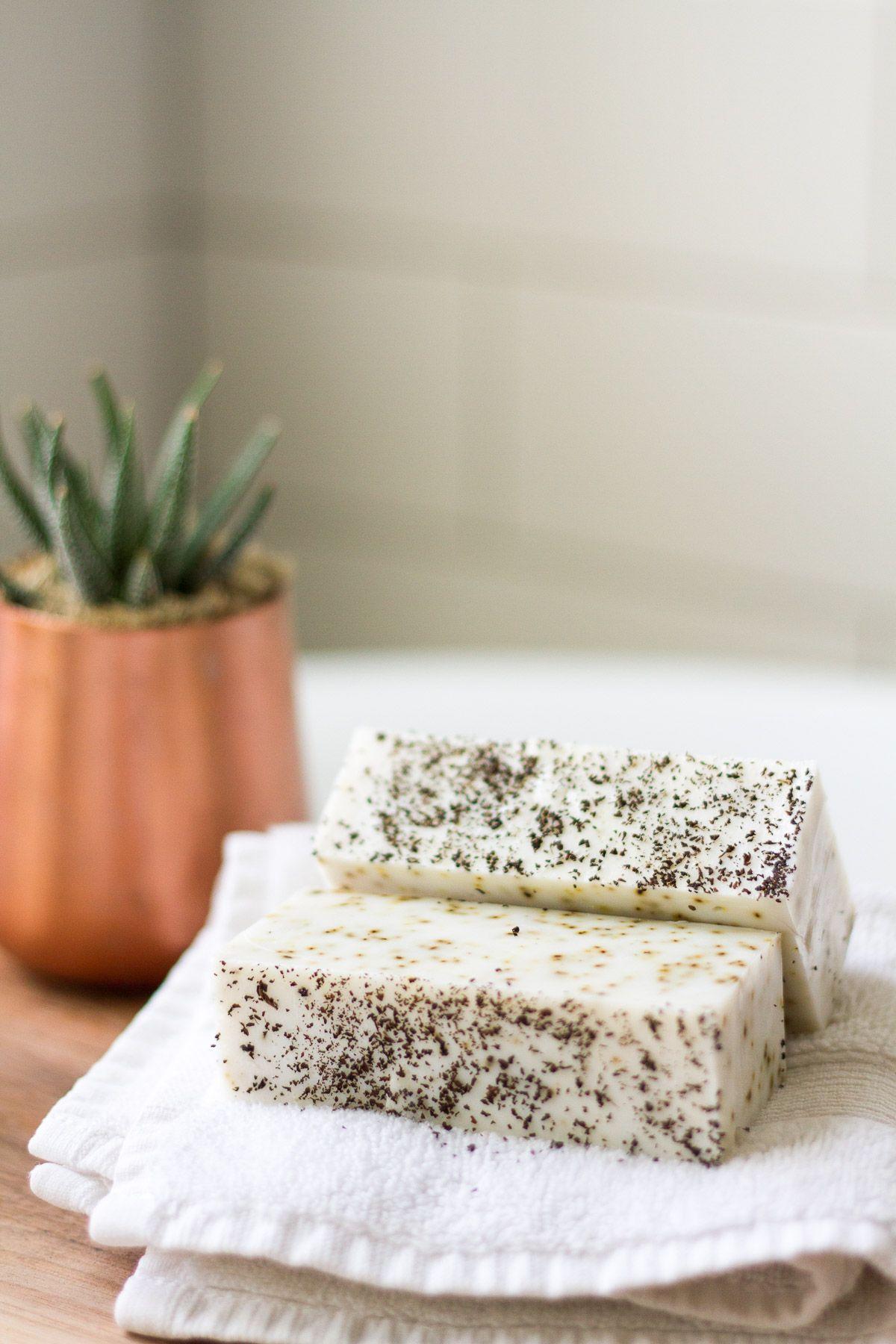 DIY Earl Grey Tea Soap