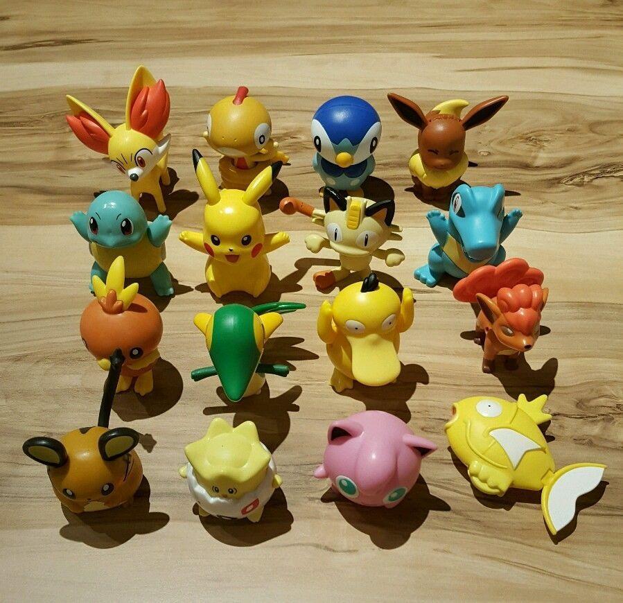 Pokemon Mcdonalds Happy Meal Toys Europe New 2016 Full Set Of 16