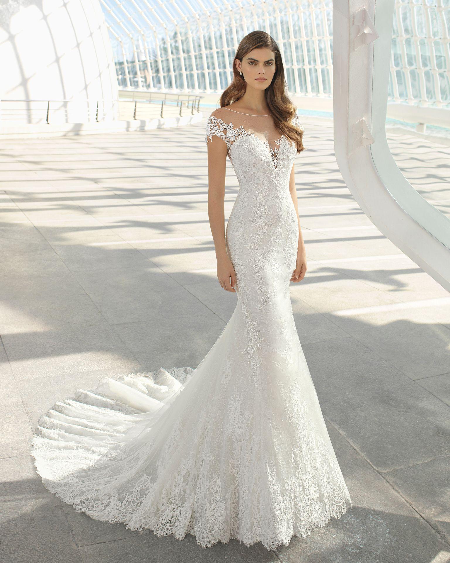 Darling Mermaid Style Wedding Dress Mermaid Wedding Dress Wedding Dresses Lace