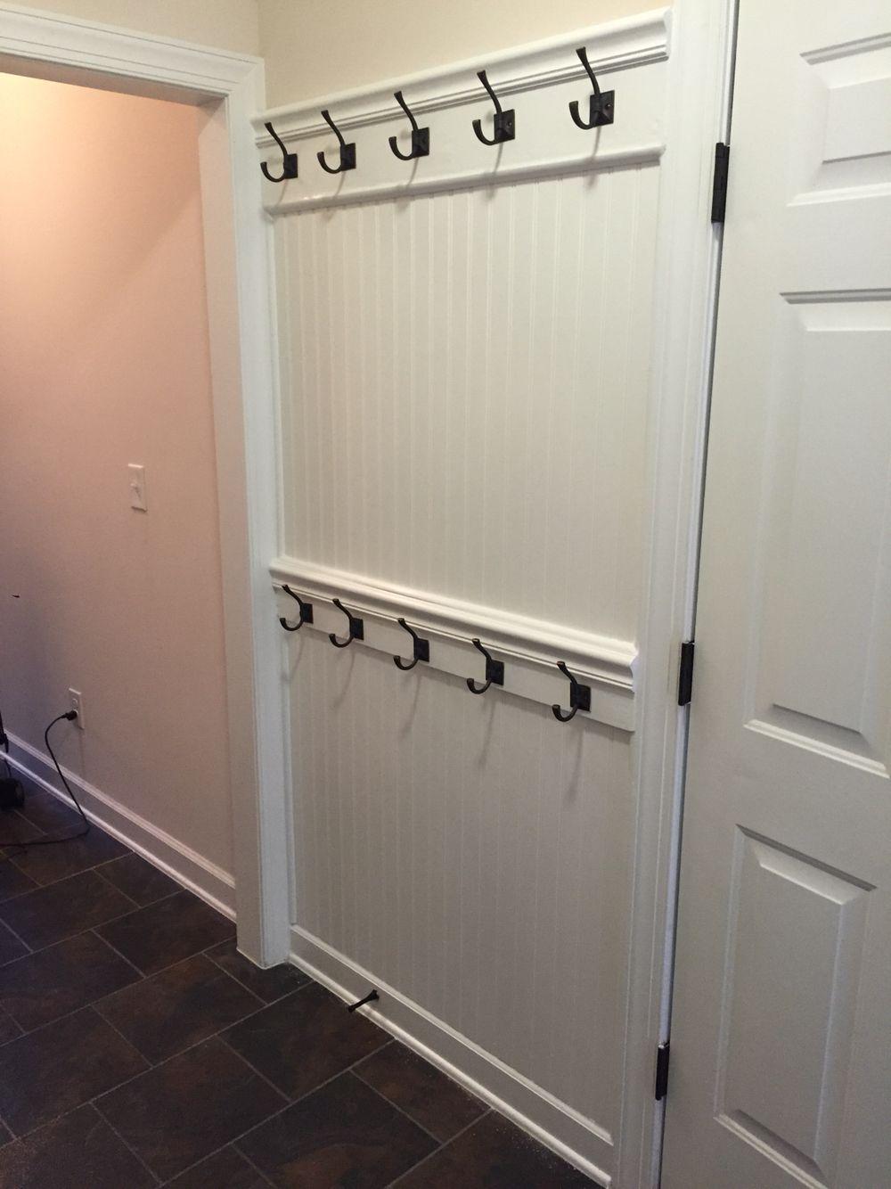 Diy Coat Rack Wall Rustic Entryway