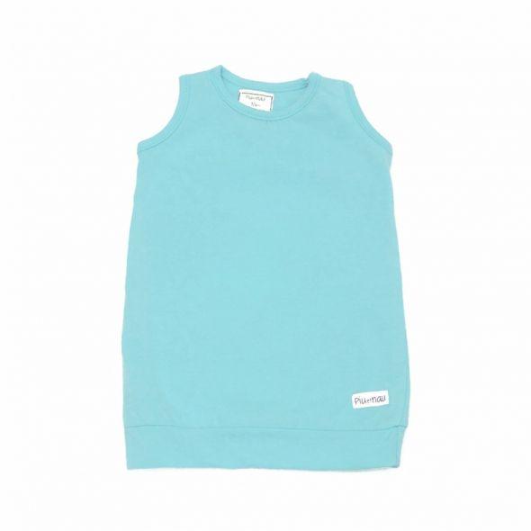 Camiseta tirantes fruncida acqua