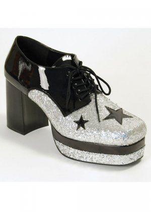 b4d68f99c71e 1970 s Glam Rock Disco Mens Platform Shoes