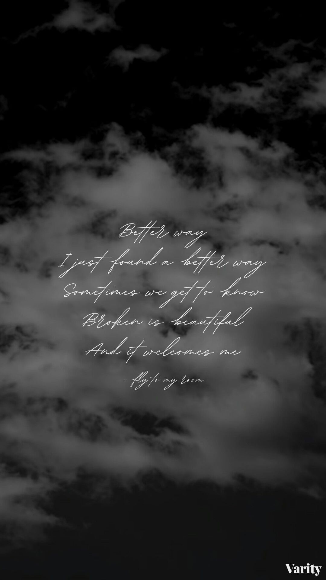 Fly To My Room Be By Bts Aesthetic Song Lyrics Wallpapers Lockscreens In 2021 Song Lyrics Wallpaper Bts Song Lyrics Bts Lyric Bts quotes wallpaper black and white
