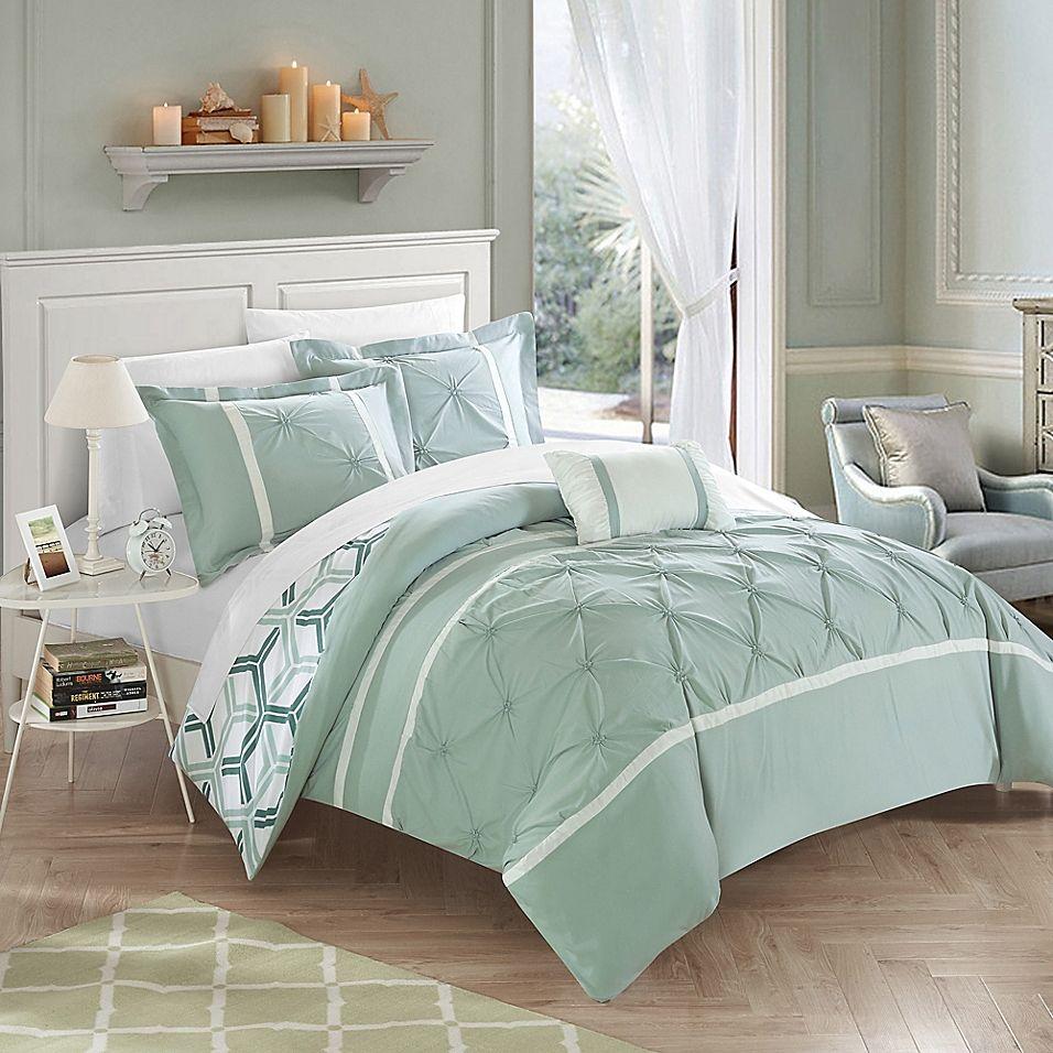Chic Home Eula Reversible Comforter Set Comforter Sets Twin