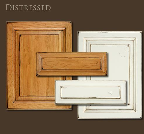 oak cabinets painted distressed  WHAT FINISH DO I CHOOSE