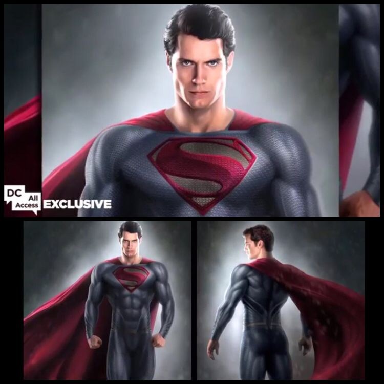 NEW: Costume designer Michael Wilkinson shares #BatmanvSuperman concept art, talks Supes' suit secrets http://t.co/k3E9pef5uO #HenryCavill #ManofSteel #Superman #JusticeLeague