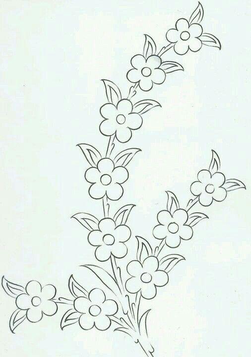 Ramillete | Embroidery | Pinterest | Bordado, Patrones de bordado ...