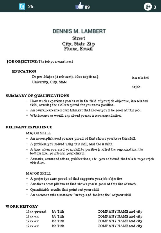 This image presents the functional skills resume sample Do you - functional format resume sample