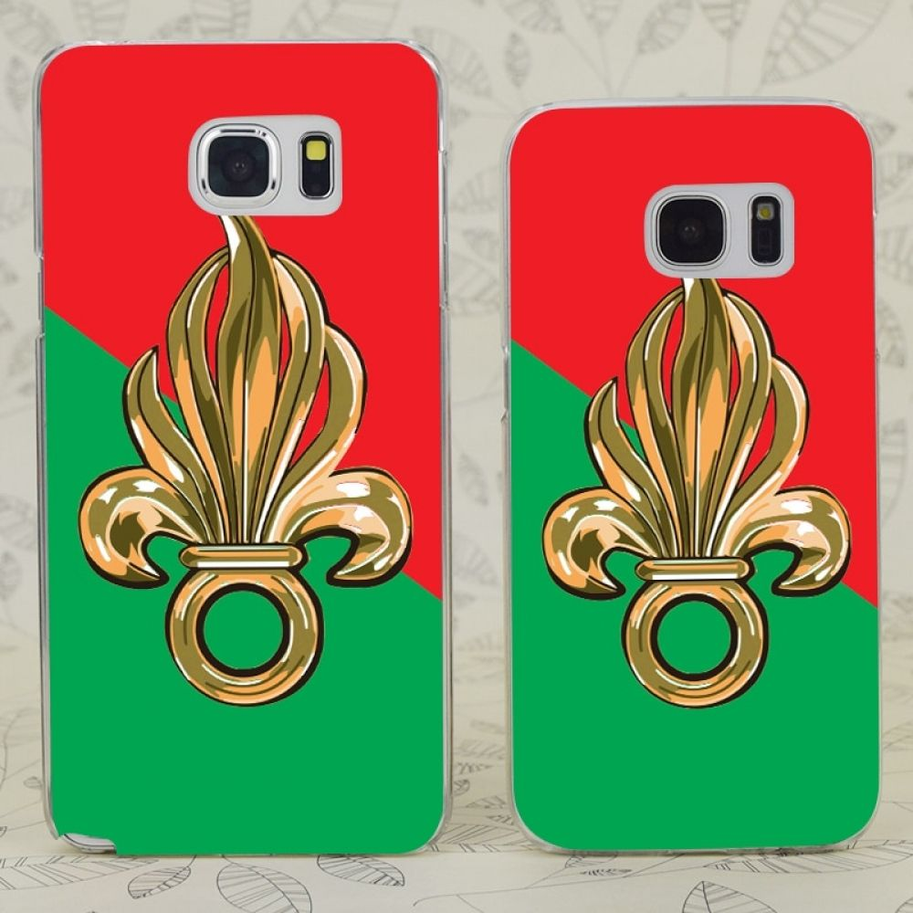 French Foreign Legion Transparent Hard PC Case Cover For
