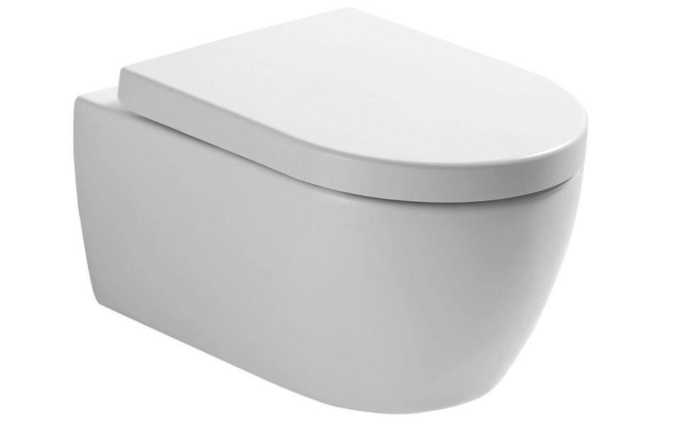 Neg Hange Wc Uno11rk Tiefspuler Randlos Kurz Toilette Ohne Unterspulrand Mit Duroplast Soft Close Deckel Und Nano Beschichtung In 2020 Toiletten Deckel Beschichtung