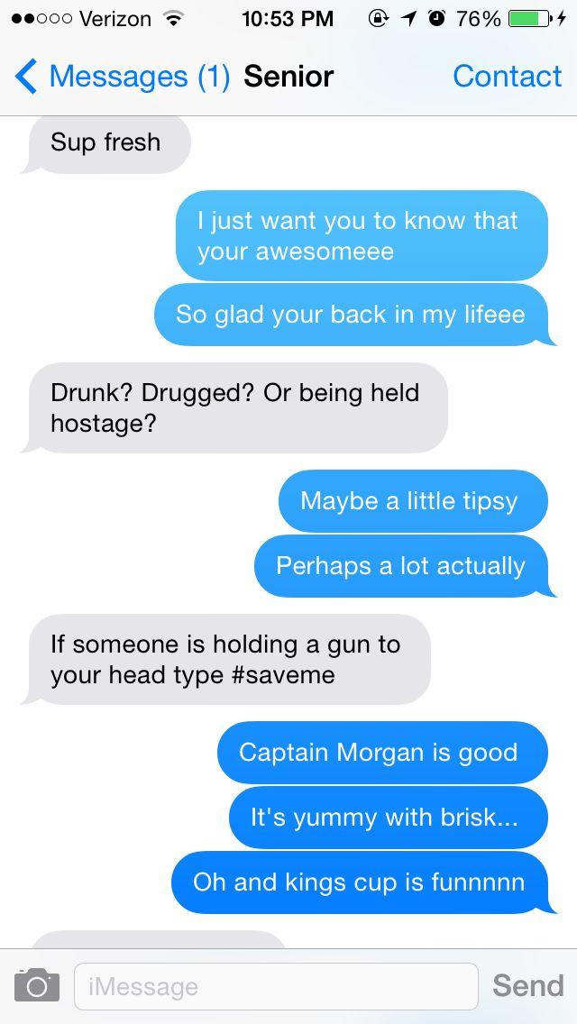Drunk Texts To The Senior ️ Lol Best Ex-boyfriend /best ...