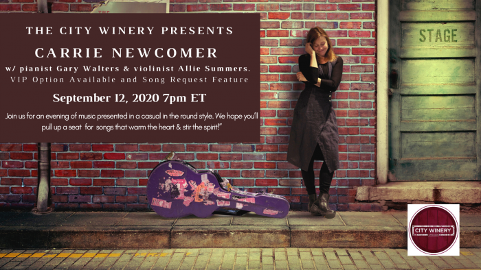 Cw Tv Livestream Carrie Newcomer Newcomer Live Streaming Violinist