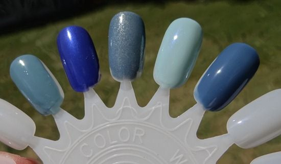 Nail Polish Swatches - need these to keep track of what they all look like on
