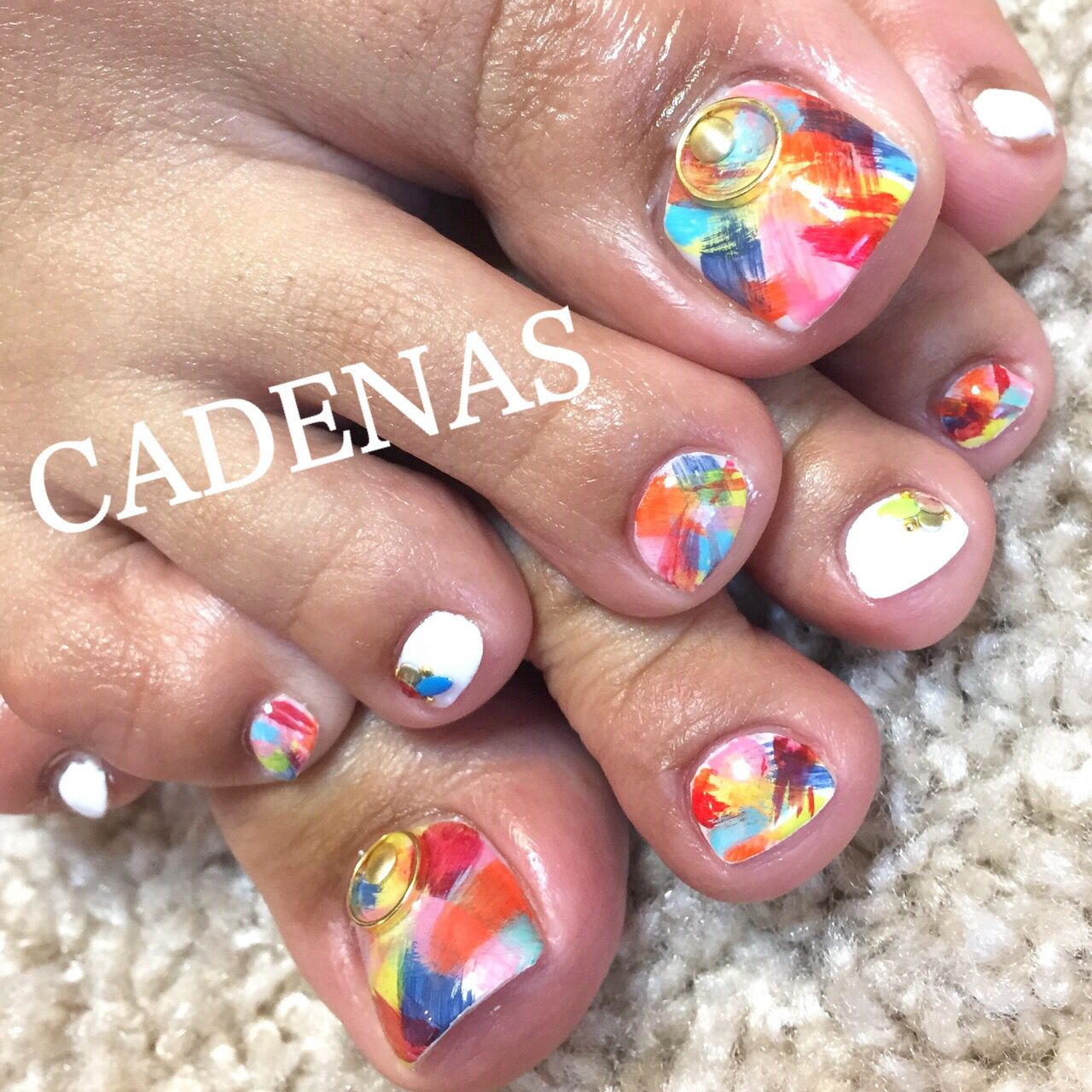 CADENAS nail design tel:06-4792-8617 blog❤ http://ameblo.jp ...