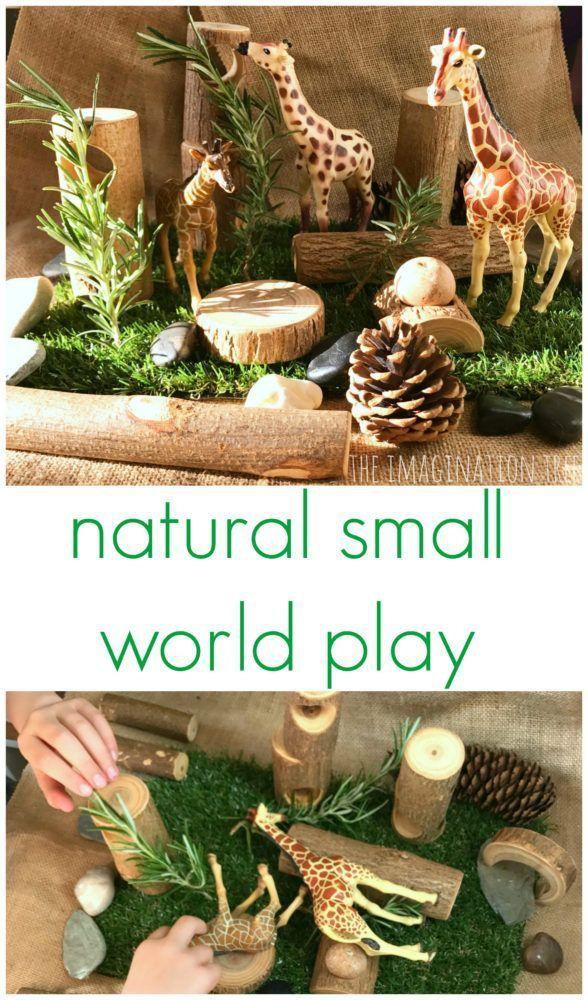 Natural Animal Small World Play - The Imagination Tree