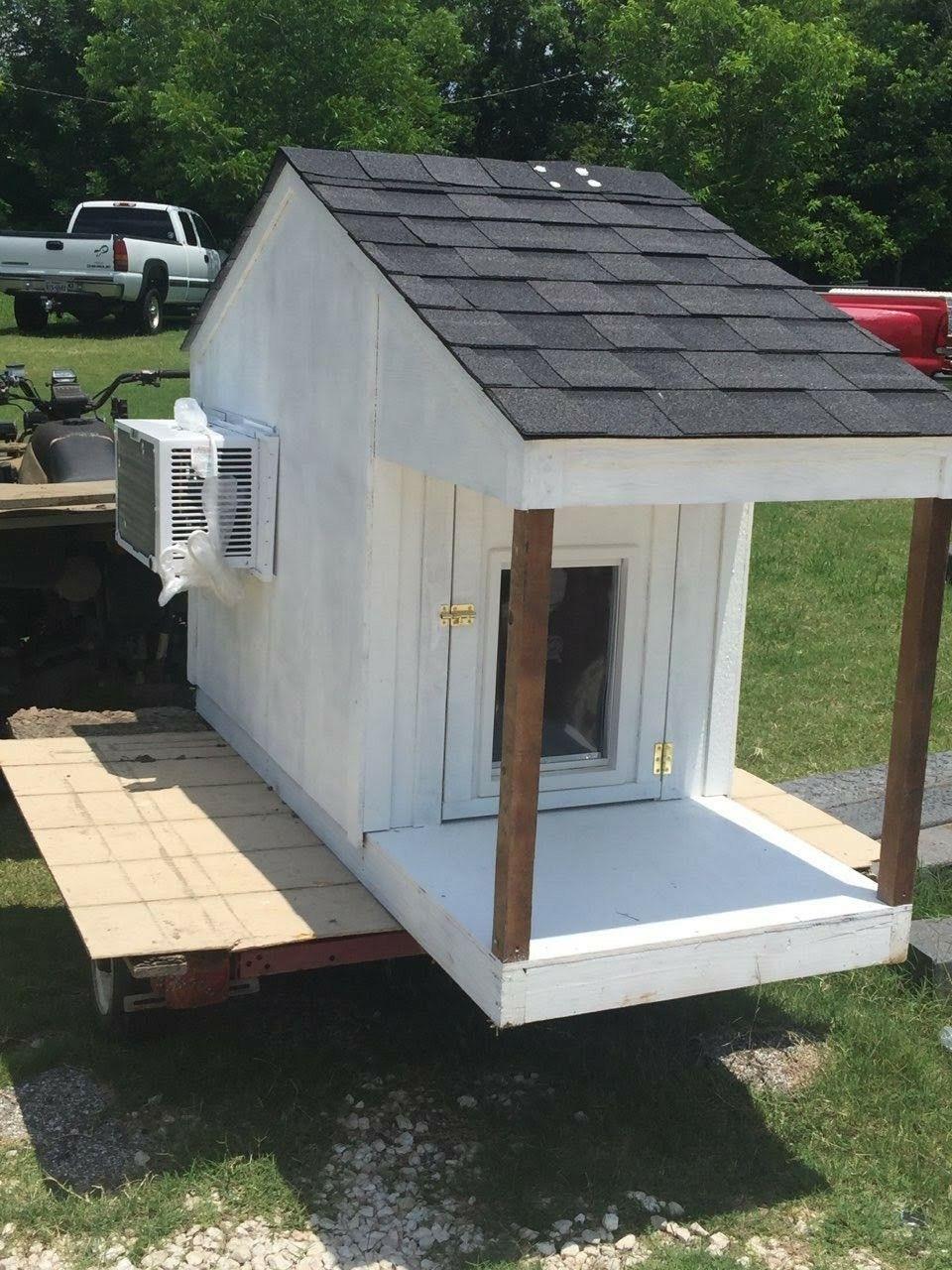 Custom Dog Houses With Ac Unit And Doggy Door 6 X32 X4 Call Text