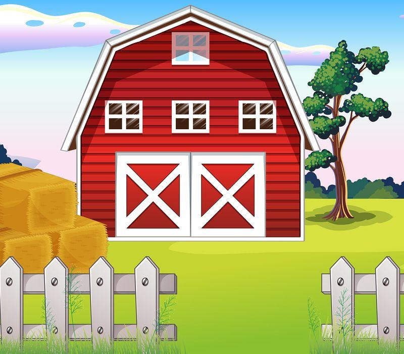 Яндекс.Фотки   cartoon landscape background   Pinterest ... Clip Art Pictures Of Farm Houses