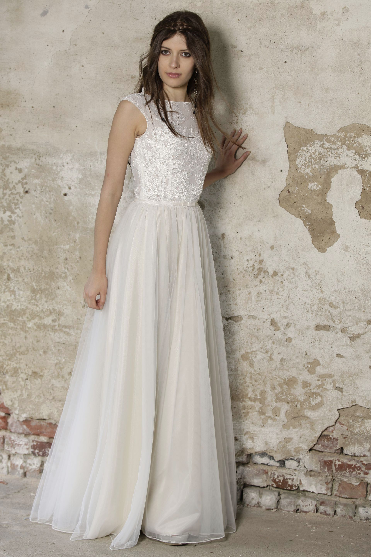 Modell Kimberly 837 Silk Lace Hochzeitskleider Wir Haben