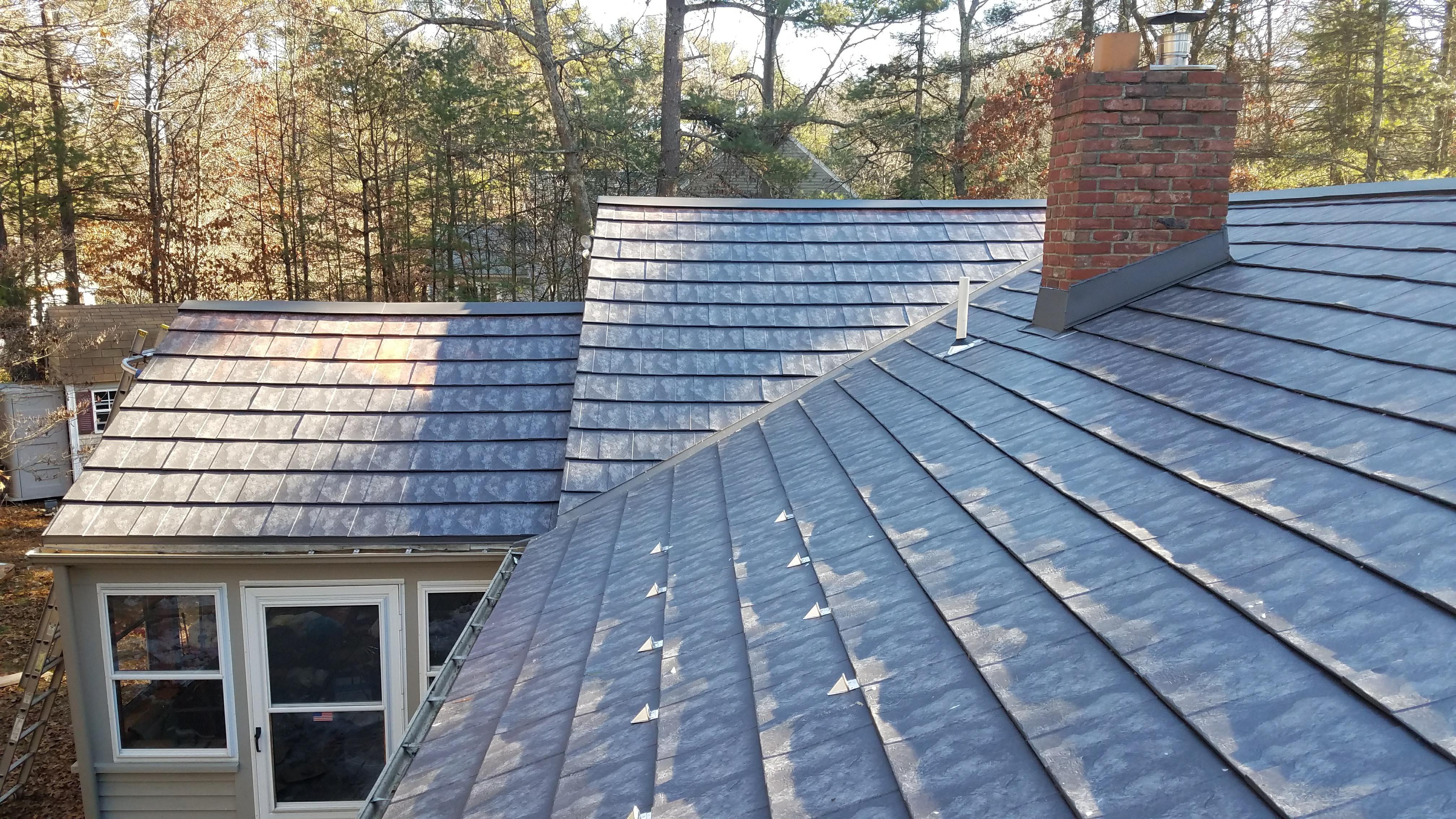 Oxford Slate Classic Metal Roofs Llc Stow Ma Metal Roof Metal Shingles Fibreglass Roof