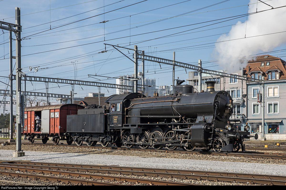 2969 Eurovapor C 5/6 at Brugg (AG), Switzerland by Georg Trüb   Steam    Switzerland, Steam locomotive і Locomotive