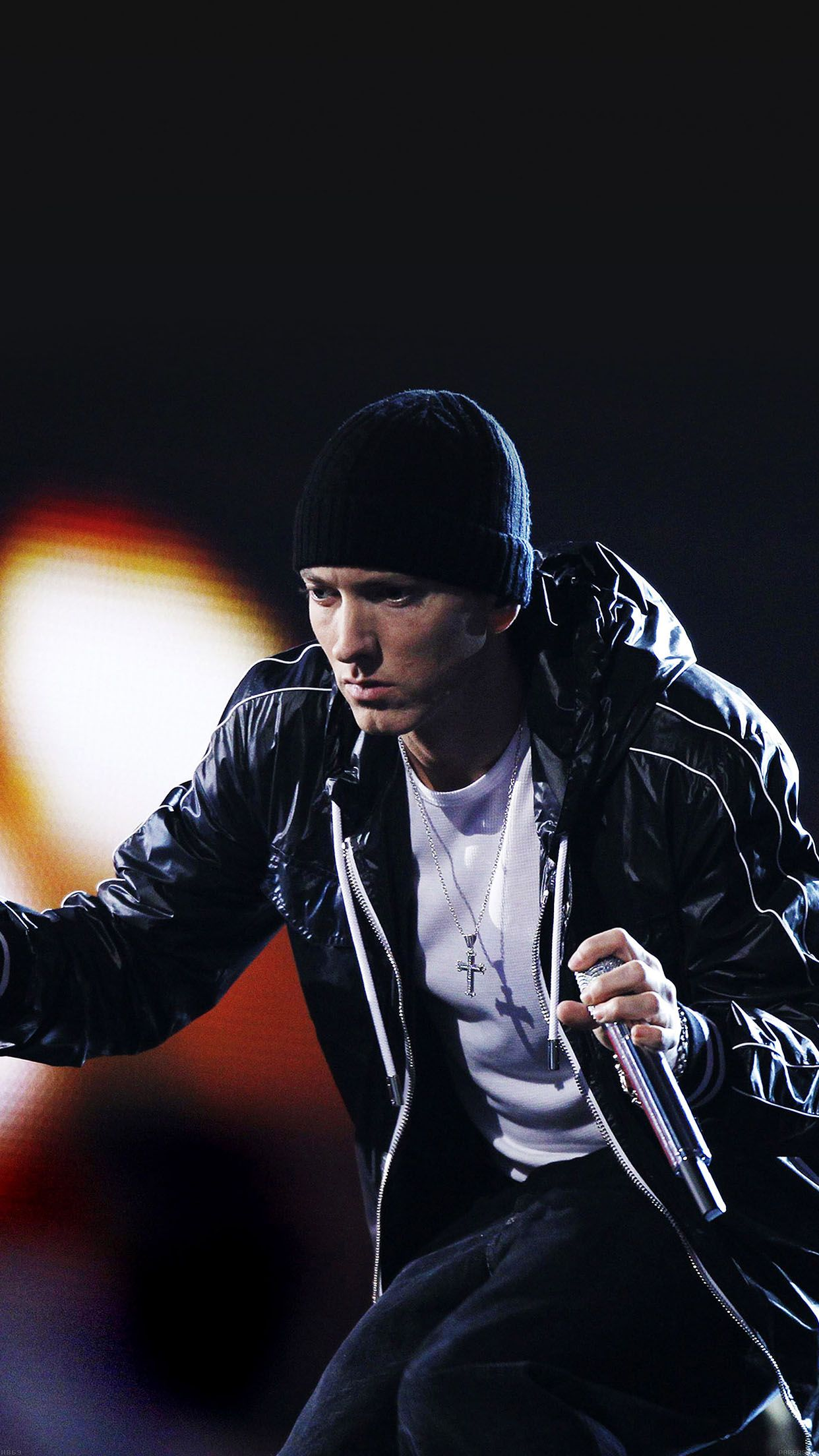 TAP AND GET THE FREE APP! Music Eminem on Stage Black Rap
