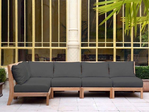 Canapé jardin bois | Canapé en 2019 | Outdoor sofa, Outdoor et ...