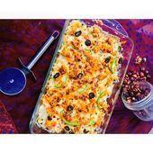 Photo of RED WHITE SAUCE BAKED PASTA RECIPE:  Elbow macaroni half packet Spaghetti half p…
