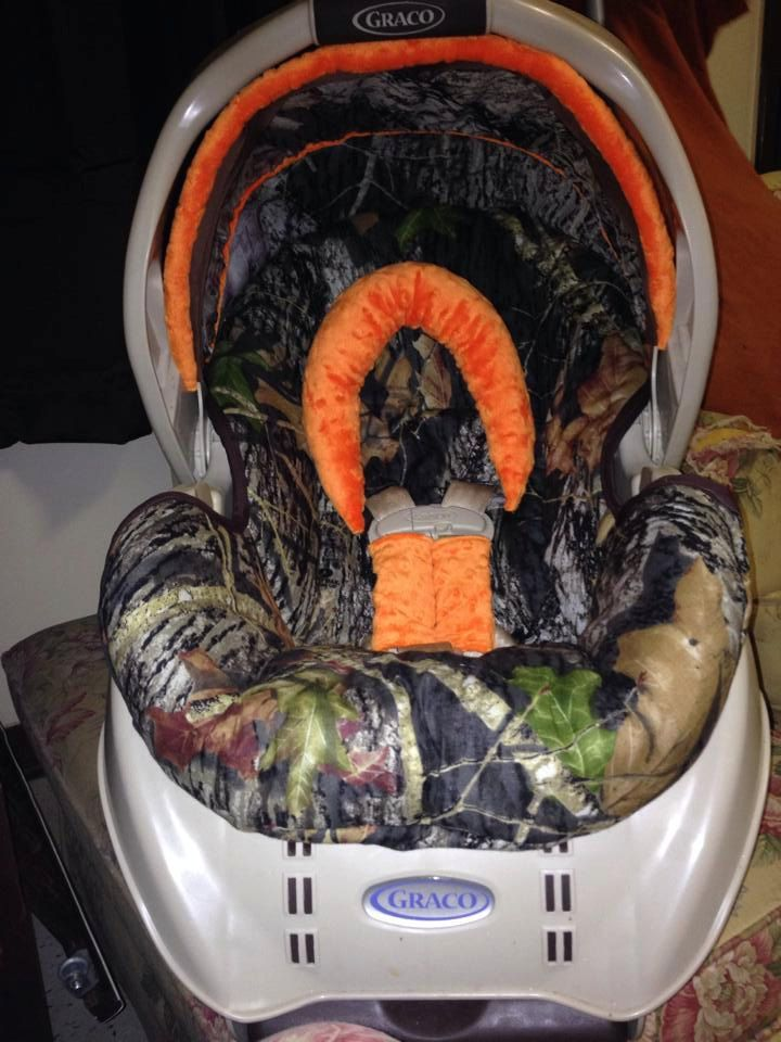 Custom Camo Infant Car Seat Cover For Graco By HaleysCrafts