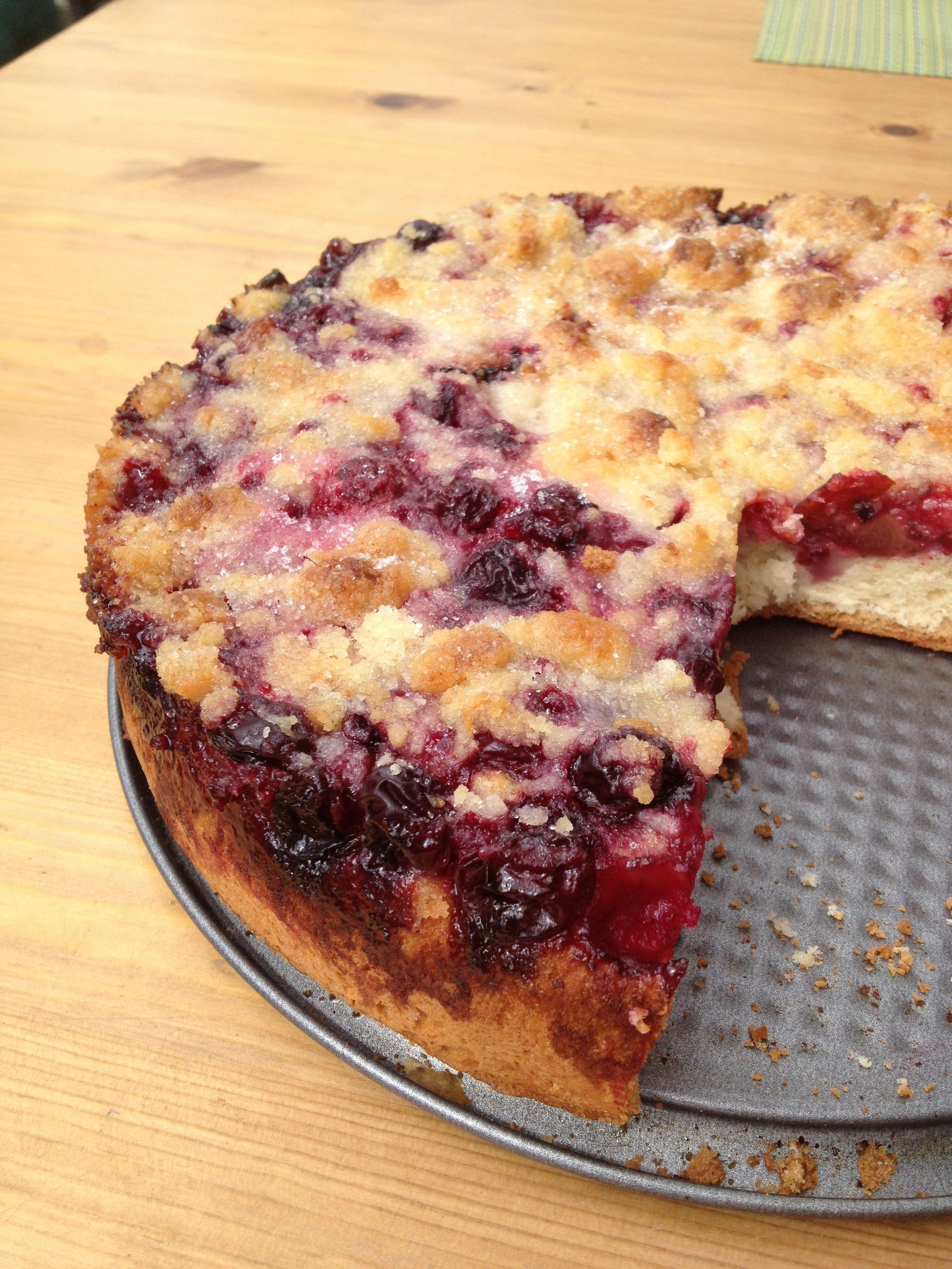 Grandma's Cherry Berry cake