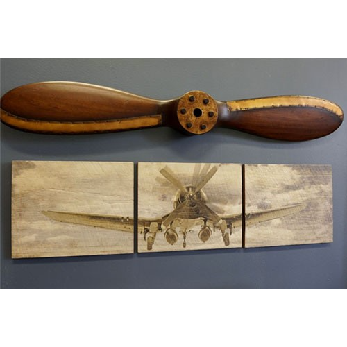 Wall Décor Ideas Get Your Customised Wooden Propeller From Woodfeather