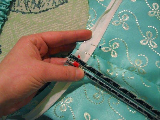 Tutorial: Otra forma de utilizar cinta de bies (o sesgo) para sisas y escotes