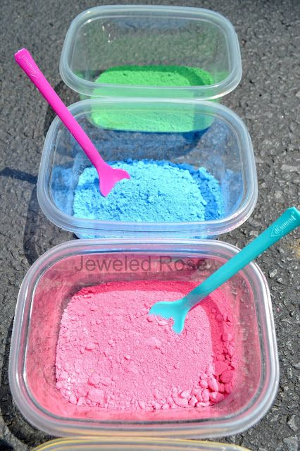 Powdered Paint Recipe Easy Diy