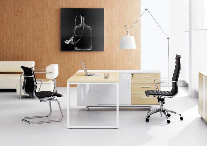 Zen Pearwood Office Desks Affordable Furniture 660