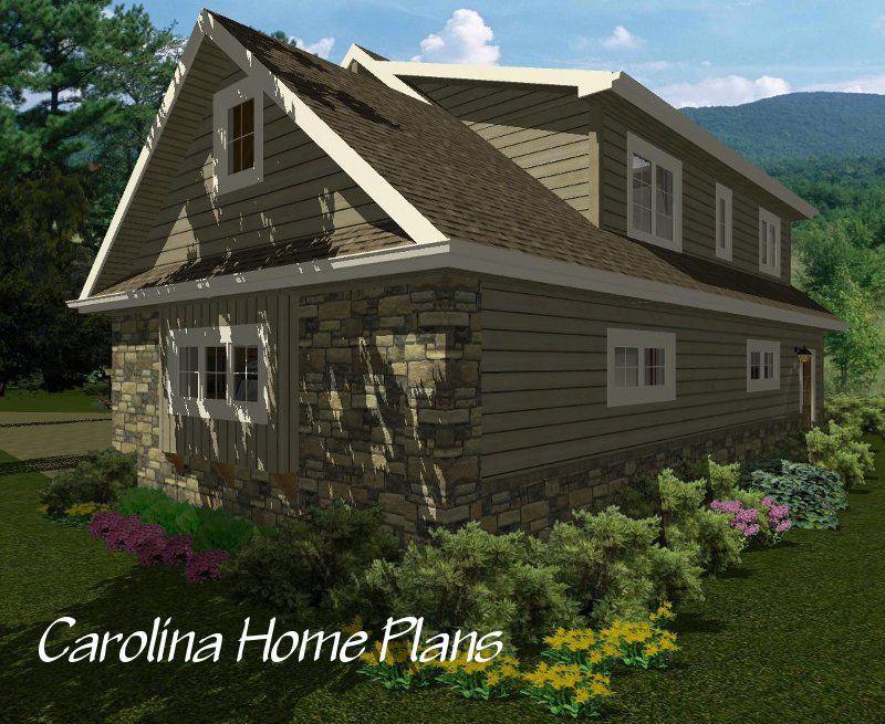 Craftsman Style, 2-car Or 3-car Garage/apartment Plan GAR