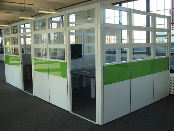Office Furniture: Private Office / Conference Cubicles