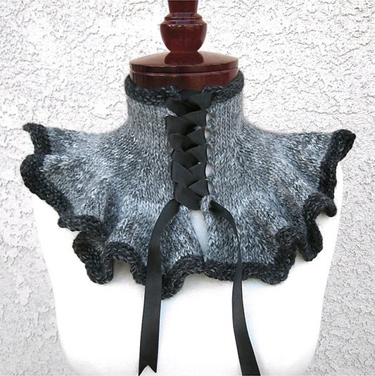 Fabulous Gothic Style Knits From Voknits This Ones Called Lady