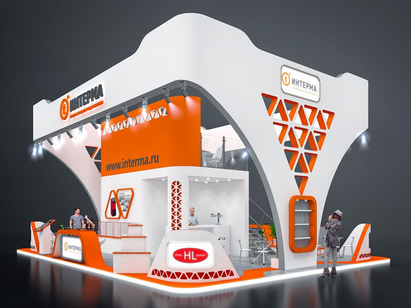 Fascia Board Exhibition Booth : Exhibition stand design on behance booth