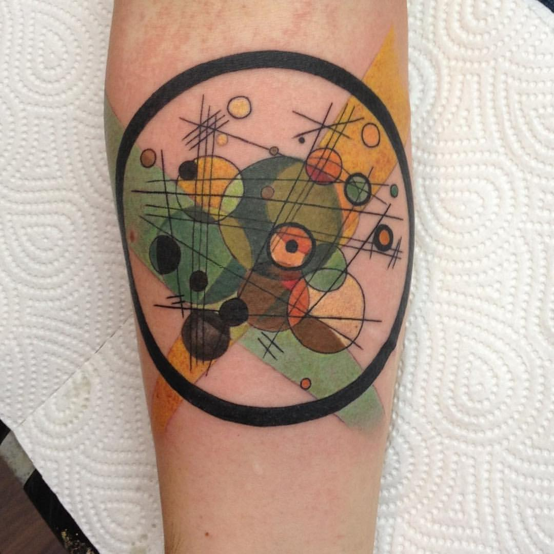 20 Wassily Kandinsky Tattoo Sleeve Pictures And Ideas On Meta Networks
