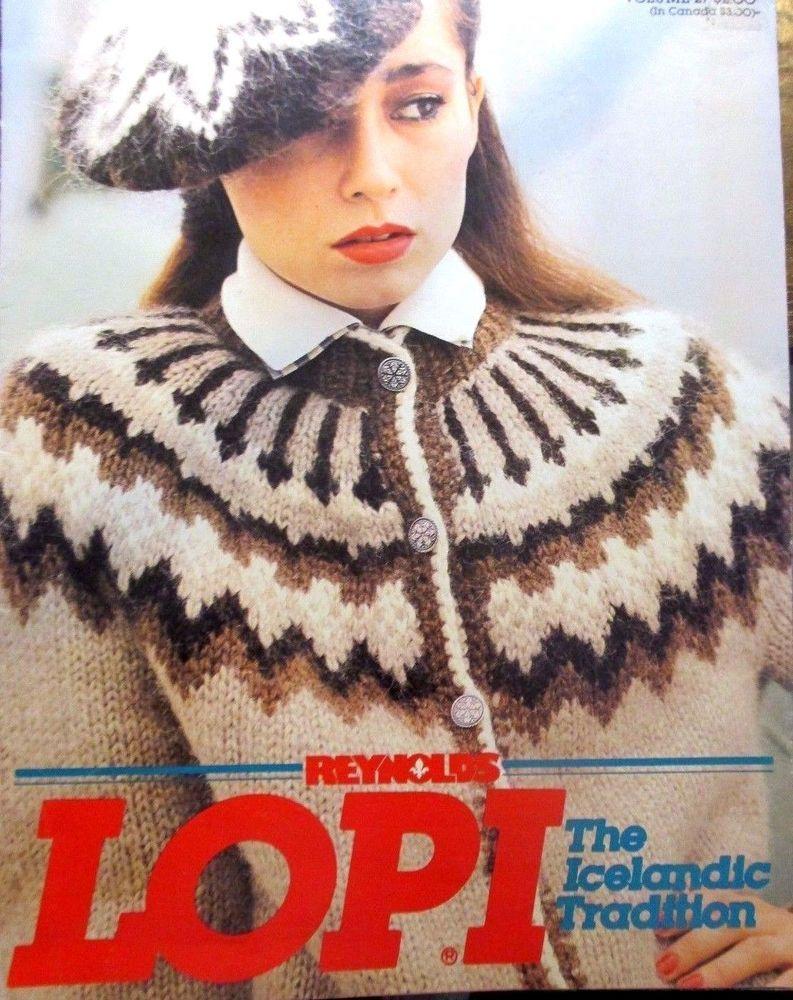 Reynolds Lopi The Icelandic Tradition Ladies Knitting Pattern Volume ...