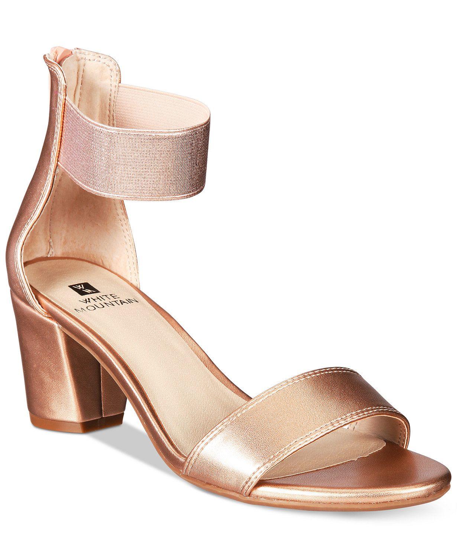 11++ Macys dress sandals information