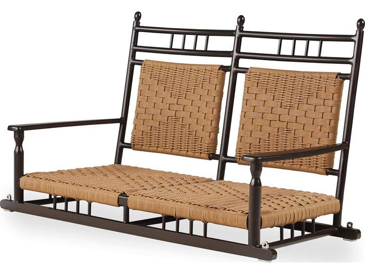 Lloyd Flanders Low Country Aluminum Porch Swing With Images